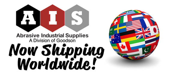 Abrasive Industrial Supplies is now shipping worldwide