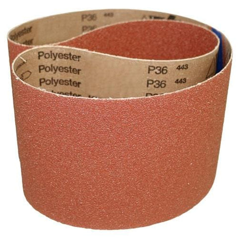 "6"" x 80"" Aluminum-Oxide Sanding Belts 