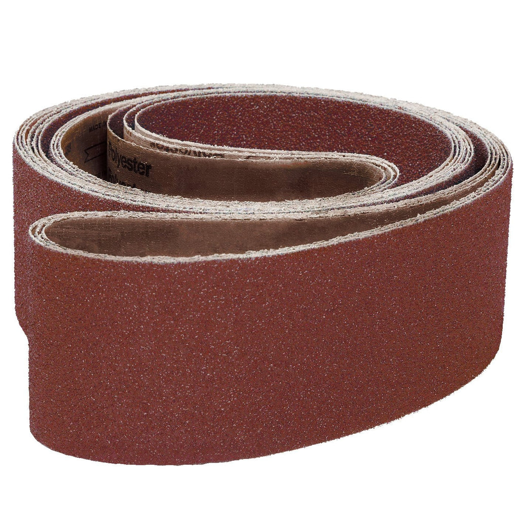 "1-1/4""W x 30""L Aluminum-Oxide Belts 