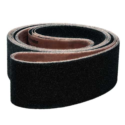 "2"" x 34"" Silicon-Carbide Sanding Belts - Abrasive Industrial Supplies"