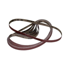 "5/8"" x 20-1/2"" J-Weight Aluminum Oxide Sanding Belt"