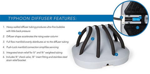 atlantic water gardens typhoon diffuser features courtesy of kinetic water features