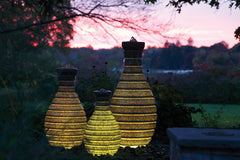 Atlantic Water Gardens Color Changing Vase Fountains