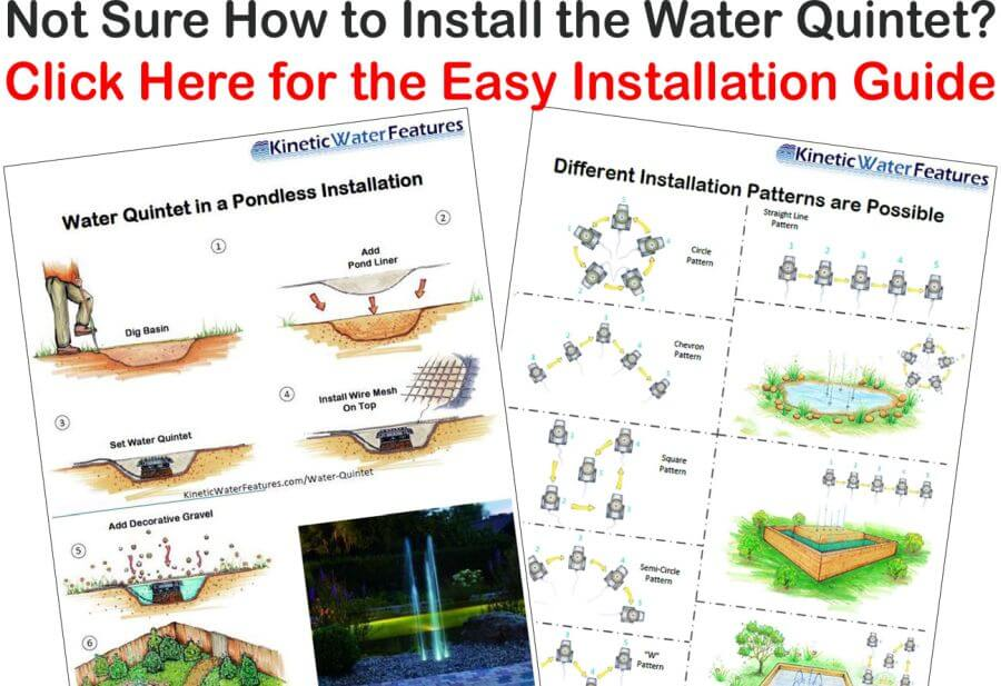 Oase Water Quintet Easy Installation Guide