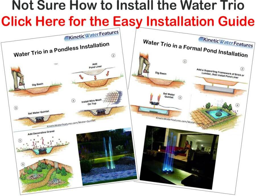 Oase Water Trio Easy Installation Guide