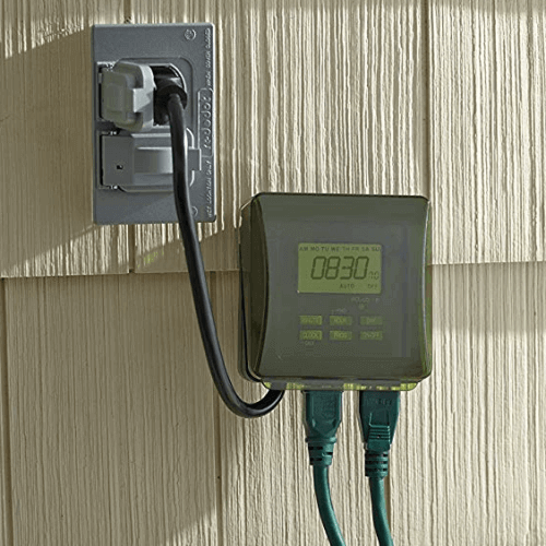 Dual Outlet Heavy Duty 7-Day Digital Timer