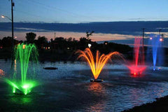 kasco marine rgb led fountain lights