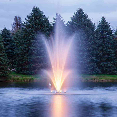 3 HP Amherst Fountain by Scott Aerator-fountain-Scott Aerator-Kinetic Water Features