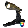 Image of Anjon 3 Watt LED Color-Changing Spotlight-Anjon-Brass-Kinetic Water Features