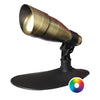 Image of Anjon 9 Watt LED Color-Changing Spotlight-Anjon-Brass-Kinetic Water Features