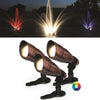 Image of Anjon RGB Color-Changing LED Fountain Light Kit - (3) 9 Watt LED Color Changing Lights-Anjon-Kinetic Water Features