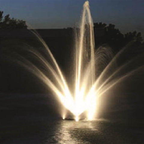 Anjon White LED Fountain Light Kit - (3) 3 Watt LED Spotlight Package-Anjon-Kinetic Water Features