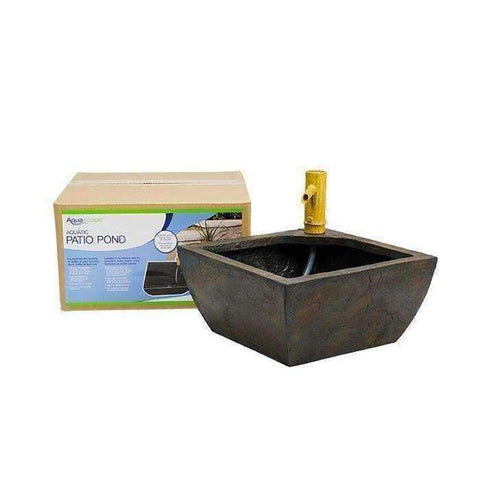 Aquascape Aquatic Patio Pond Water Garden with Bamboo Fountain-aquatic pond-Aquascape-Kinetic Water Features