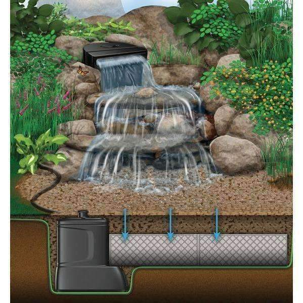 ... Aquascape DIY Disappearing Waterfall Kit Waterfall Aquascape Kinetic Water  Features ...