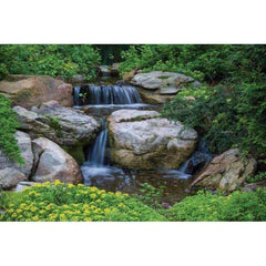 Aquascape Large Pondless Disappearing Waterfall Kit with 26 ft Stream and with 5-PL 5000 Pump