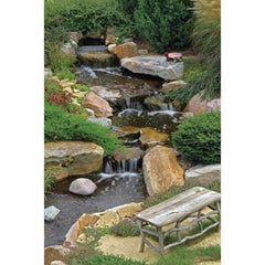 Aquascape Medium Pondless Disappearing Waterfall Kit with 16 ft Stream and 3-PL 3000 Pump