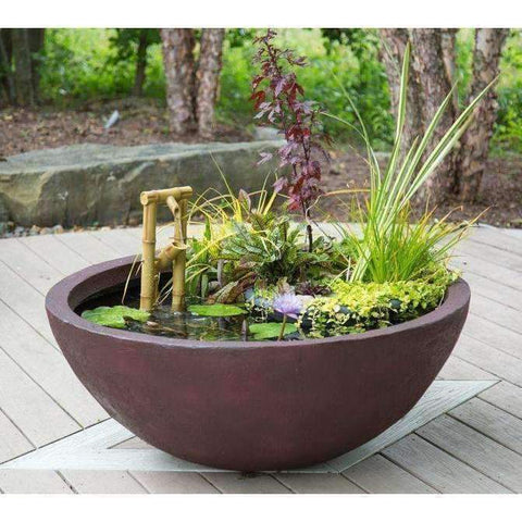 "Aquascape Slate DIY Aquatic Patio Pond-aquatic pond-Aquascape-24""-European Terra Cotta-Kinetic Water Features"