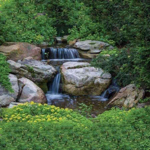 Aquascape Small Pondless Waterfall Kit with 6 ft. Stream and AquaSurge 2000-4000 Pump-waterfall kit-Aquascape-Kinetic Water Features