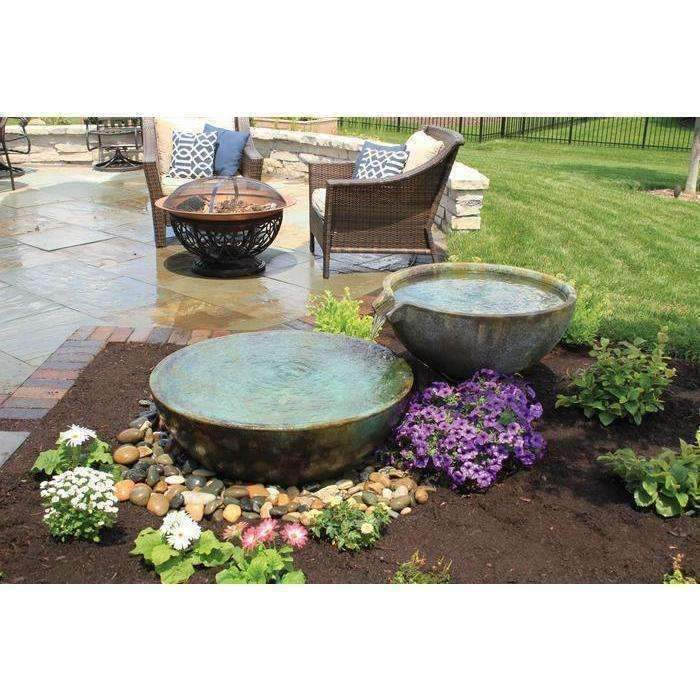 Aquascape Spillway Bowl And Basin Fountain Kit Model 58087 Kinetic Water Features