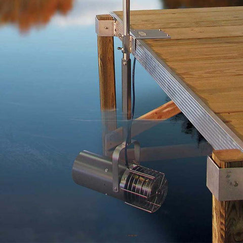 Aquasweep Dock Plate Mount by Scott-Water Mover-Scott Aerator-Kinetic Water Features