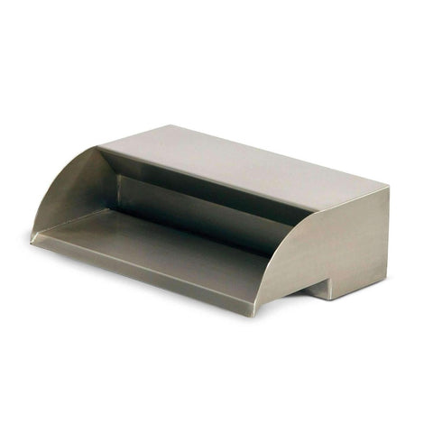 "Atlantic 304 Stainless Steel Scupper Spillway 12"" 24"" 36"" Sizes-Spillway-Atlantic Water Gardens-12"" Spillway Model SS12-Kinetic Water Features"