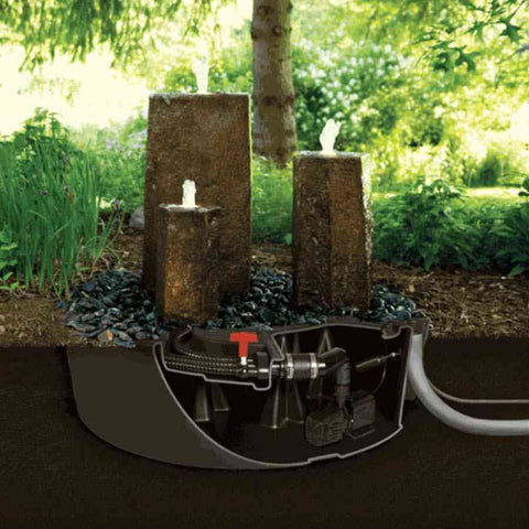 "Atlantic 32"" Fountain Basin Model FB3200-Fountain Basin-Atlantic Water Gardens-Kinetic Water Features"