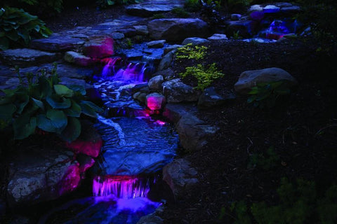 Atlantic Color Changing Pond Light Kit with Controller - 1 Watt-Atlantic Water Gardens-Kinetic Water Features