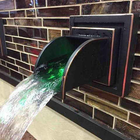 Atlantic Color Changing Spout Light - 2 Watt with Inficolor Connector-LED Lights-Atlantic Water Gardens-Kinetic Water Features