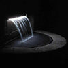 Image of Atlantic Colorfalls - Solid Color Sheer Lighted Backyard Waterfall Spillways-Waterfall-Atlantic Water Gardens-Kinetic Water Features