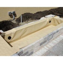 Atlantic Flexible Hardscape Basin Liner-Fountain Basin-Atlantic Water Gardens-4 Ft-Tan-Kinetic Water Features