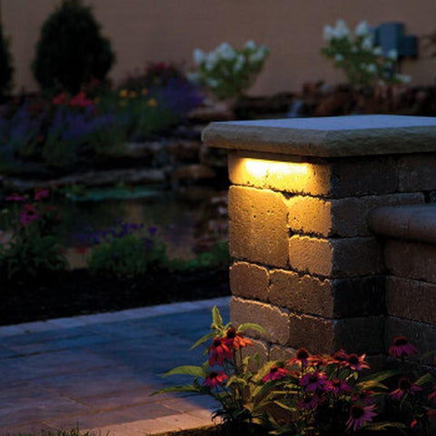 Atlantic Warm White Hardscape Light - 12 inch - 4 Watt-LED Lights-Atlantic Water Gardens-Kinetic Water Features