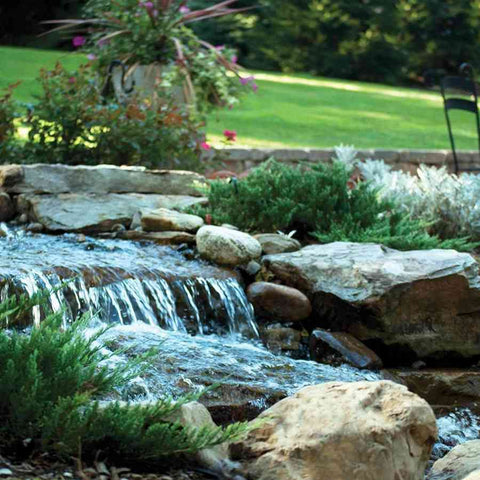 "Atlantic Water Gardens Large Pond-Free Waterfall Kit 19"" Spillway-waterfall kit-Atlantic Water Gardens-Kinetic Water Features"