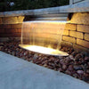 Image of Atlantic Water Gardens Stainless Steel Copper Finish Spillways-Spillway-Atlantic Water Gardens-Kinetic Water Features