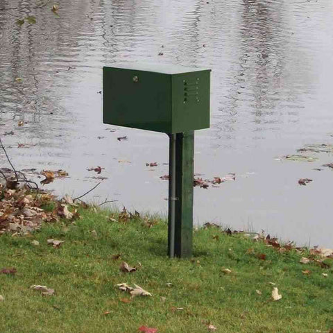 EasyPro Sentinel PA34 Deluxe Pond Aeration System Up To 1 Acre-bubbler-Easy Pro-SC18 Post-Mount-Kinetic Water Features