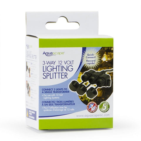 Garden and Pond 3-Way Quick-Connect Splitter by Aquascape-Lighting-Aquascape-Kinetic Water Features