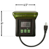 Image of Heavy Duty 120V Digital Timer for Pumps Up to 1 HP-Timer-Kinetic Water Features-Kinetic Water Features