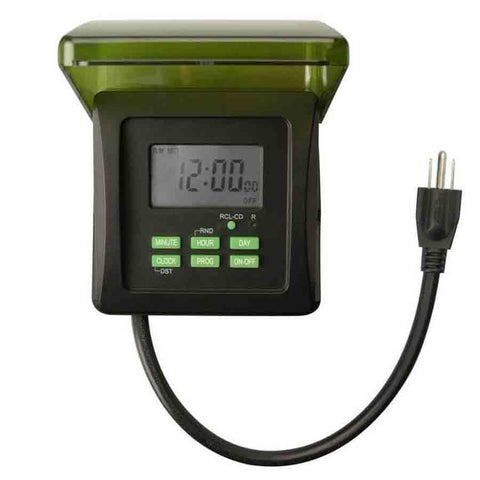 Heavy Duty 120V Digital Timer for Pumps Up to 1 HP-Timer-Kinetic Water Features-Kinetic Water Features