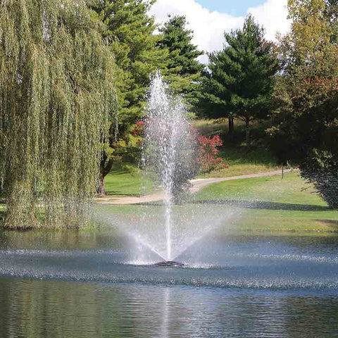 Kasco 1HP 4400JF Decorative Fountains in 120V and 240V-fountain-Kasco Marine-Kinetic Water Features