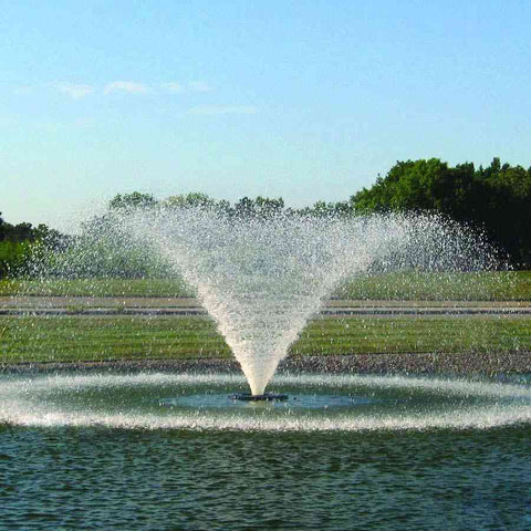Kasco 1HP 4400VFX Aerating Fountains in 120V and 240V-aerator-Kasco Marine-Kinetic Water Features