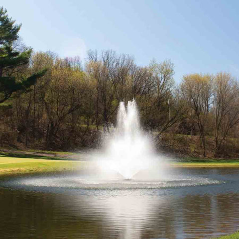 Kasco 2HP 8400JF & 2.3JF Decorative Fountains-fountain-Kasco Marine-Kinetic Water Features