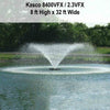 Image of Kasco 2HP 8400VFX & 2.3VFX Aerating Fountains-aerator-Kasco Marine-Kinetic Water Features