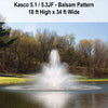 Image of Kasco 5HP 5.1JF & 5.3JF Decorative Fountains-fountain-Kasco Marine-Kinetic Water Features