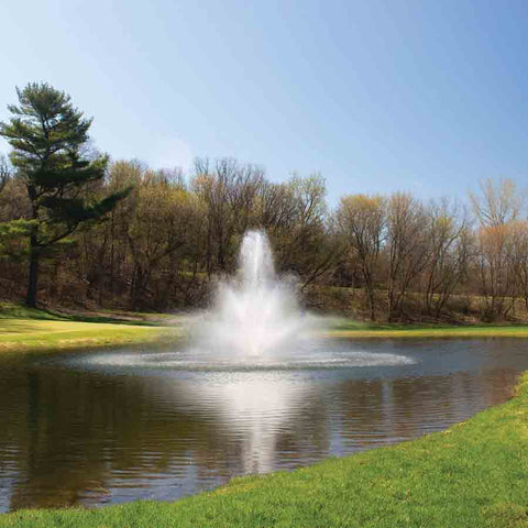Kasco 7.5HP 7.3JF Decorative Fountain-fountain-Kasco Marine-Kinetic Water Features