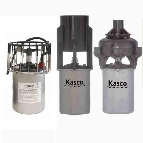 Kasco 8400 Replacement Motor 2HP 240v-Kasco Marine-Kinetic Water Features