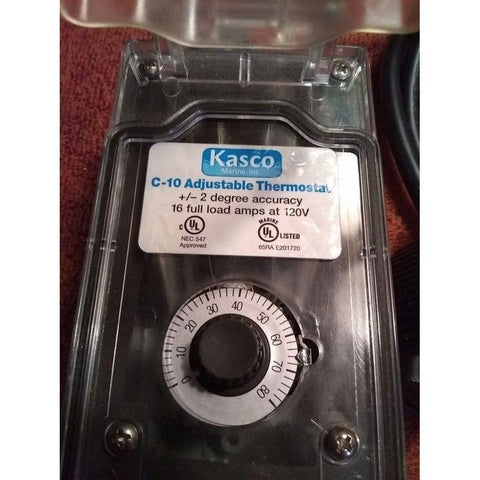 Kasco C-10 Thermostat De-Icer Control-De-Icer-Kasco Marine-Kinetic Water Features