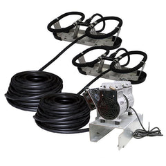 Kasco Robust-Aire RA2 Pond Aeration Kit with 2 Diffusers-aerator-Kasco Marine-Kinetic Water Features