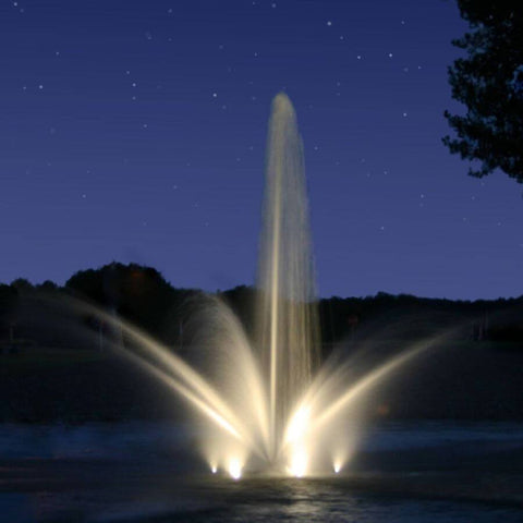 Kasco White LED Composite Fountain Lights with Colored Lenses-lighting-Kasco Marine-Kinetic Water Features