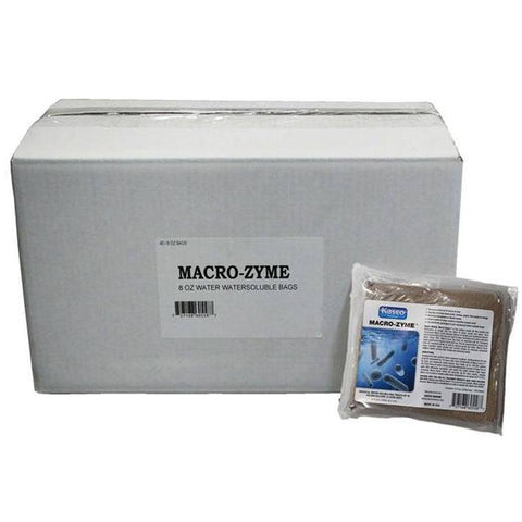Macro-Zyme Case of 40 - 8 oz WS bags by Kasco Marine-Kasco Marine-Kinetic Water Features