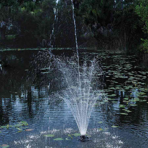 Oase 1/4 HP Floating Fountain With Lights-Fountain & Fountain Pumps-Oase-Kinetic Water Features