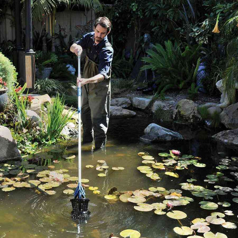 Oase Long Reach Easy Pick Pond Grabber for Pond Cleaning and Maintenance-Pond Cleaning & Skimmers-Oase-Kinetic Water Features